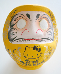 kitty_daruma_yellow