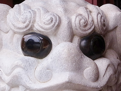 Japanese foo dog