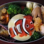 Finding Nemo Bento. youme some rights reserved. Photozou.jp