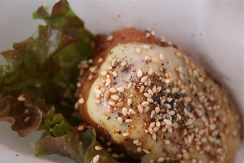 meat onigiri