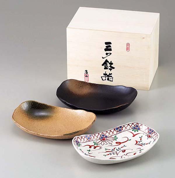 Mino-yaki ceramic plate