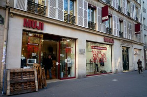 "MUJI in Paris. ""xiaming"" some rights reserved. flickr"