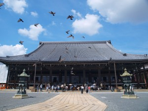 "Nishi Hongan-Ji. It was one of the meeting place of this CMEX2009. ""yvon.liu"" some rights reserved. flickr"