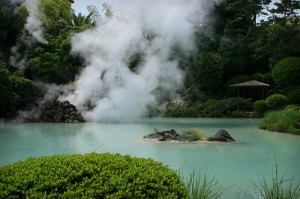 "Beppu Hot Spring. ""HokutoSuisse"" some rights reserved. flickr"