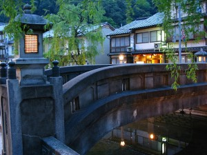"Traditional Spa Town, Kinosaki. ""kamoda"" some rights reserved. flickr"