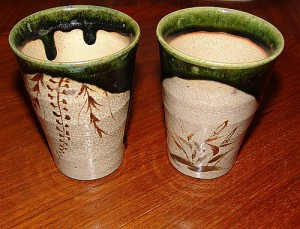 "Oribe cups. ""monkeysox"" some rights reserved. flickr"
