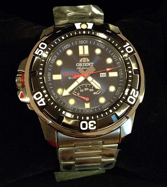 orient m-force watch