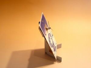 snoopy paper clock