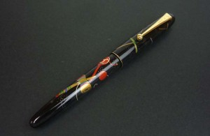 namiki fountain pen lacquer kendama