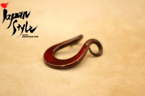 reddish iron pendant