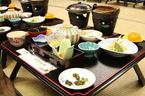 "Meal at a Ryokan. ""Lin1000.tw"" some rights reserved. flickr"