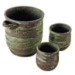Shigaraki-yaki Sake Cups