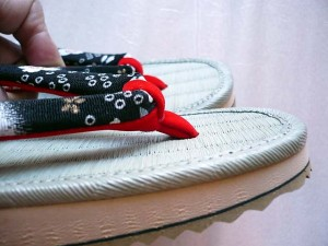 sandal_tatami