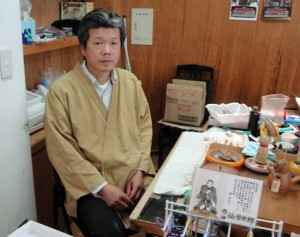 sendai kokeshi craftsman