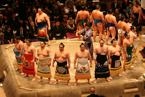 "Sumo Ritual. ""Mori Chan"" some rights reserved. flickr"