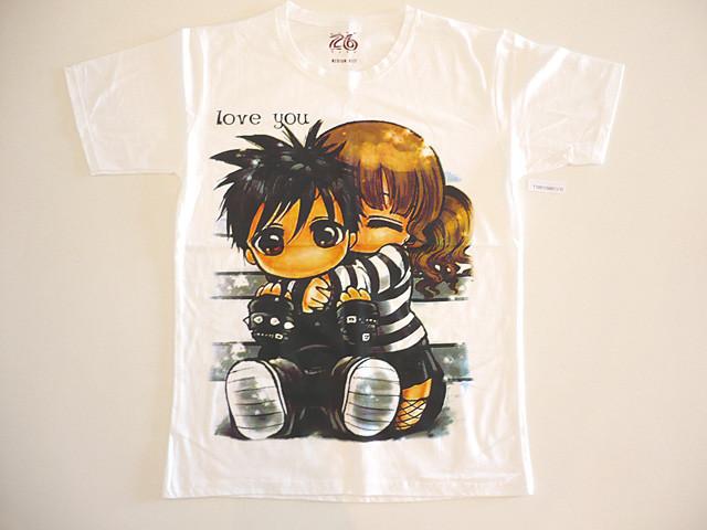 ladies manga t-shirts