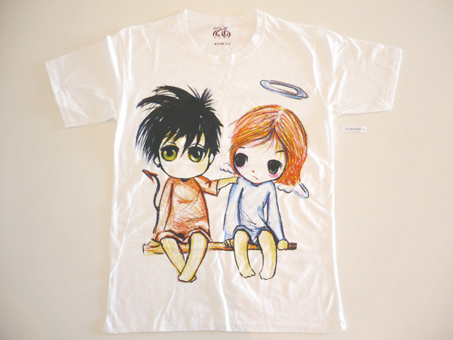cute manga couple t-shirts