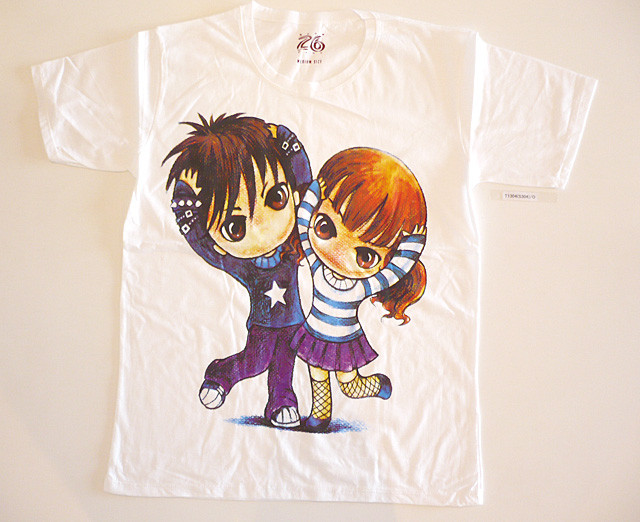 cute manga t-shirts T1304