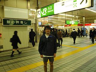 Midnight marathon in Tokyo