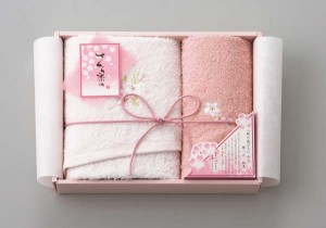 towel set sakura