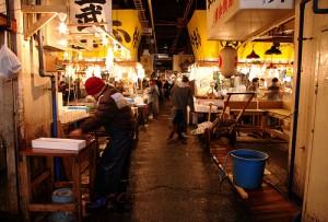 "Tsukiji Market. ""Yohei Yamashita"" some rights reserved. flickr"