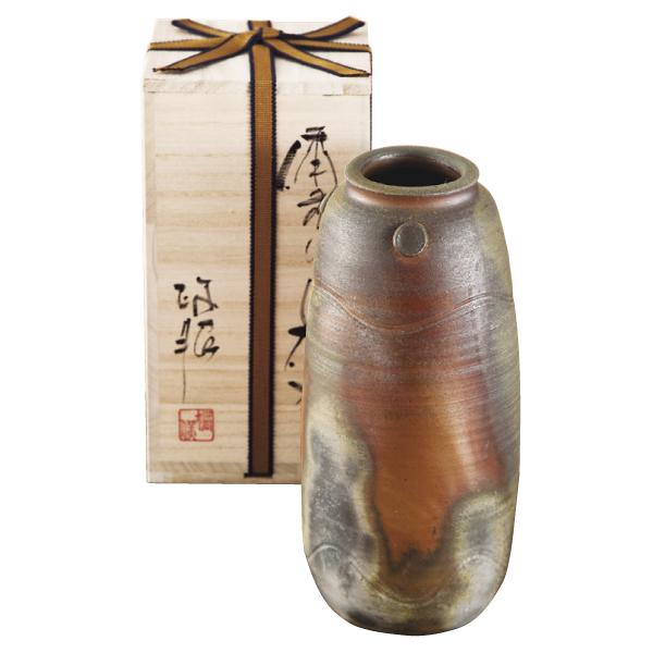 Bizen-yaki vase