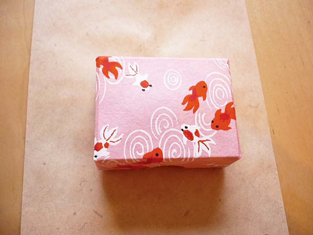accessory box with Japanese washi paper