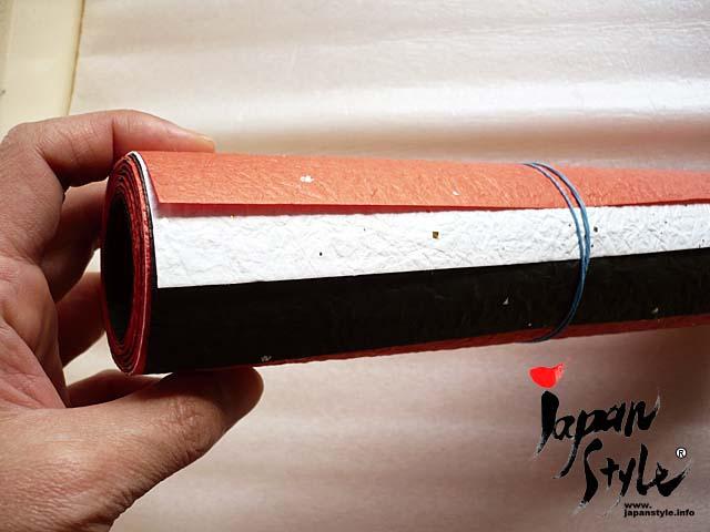 Japanese washi paper tablerunner