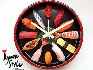 Japanese SUSHI Wall Clock