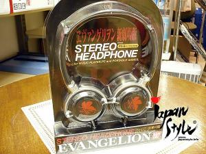 Anime Character Headphone: evangelion - nerv