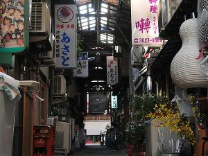 [Photoblog] An Old Shopping Street and a Cat