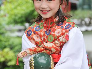[Photoblog] Girl from the Childrens Parade