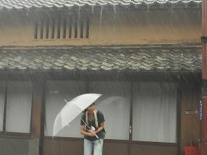 [Photoblog] Sudden Rain in Ouda Area