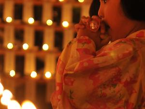 [Photoblog] Wisher at a Shrine