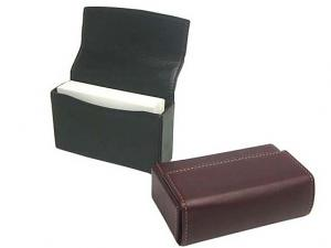 NAGASAWA Business Card Box Leather Case
