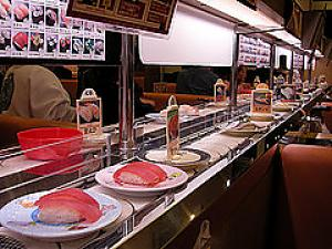Japanese Kaiten-zushi --- Sushi-go-round