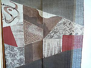 "Japanese Door Curtain ""NOREN""  (1)"