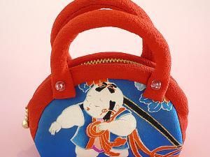 Japanese KIMONO Fabric Pure Silk Coin Purse