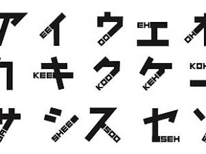 "With ""phonetikana"" You Can Easily Read Katakana"