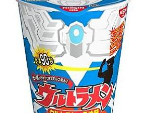 Even Ultraman Can Eat?  90 Second Instant Noodle
