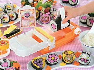 "Japanese Sushi Roll Maker ""Futomakimakki"" --- Easy and Fun!!"