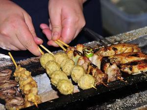 Japanese Delicious YAKITORI Chicken !!!