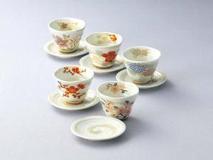 Japanese Arita-ware Cups and Saucers