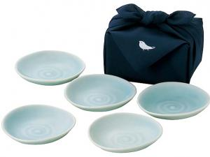 Japanese Plate Set nippon pottery tableware dish