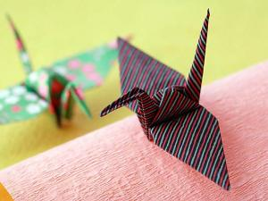 Japanese ORIGAMI --- Make a Christmas ornament with origami!!