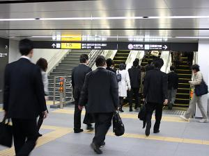 Tokyo Salary-men Spend 20 Days a Year for Commuting