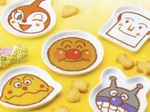 Anpanman Kids Plate (dish), made in Japan