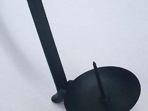 Japan Iron Candle Stick Holder samurai