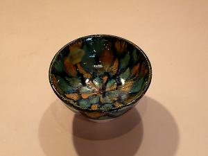 Japanese Kyo-yaki (Kyoto Ware) Sake Cup, made in JAPAN!