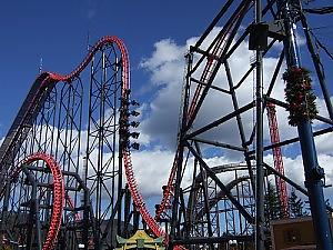 Crazy 4th demention Roller Coster --- EEJANAIKA